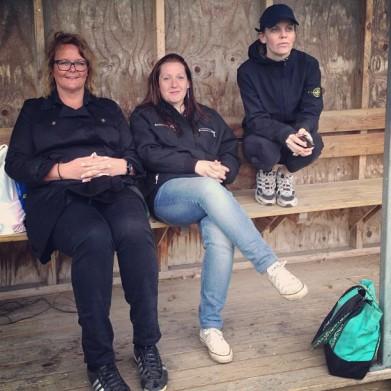 Pernilla, jag och Mia som tillsammans driver bloggen årstakex.se