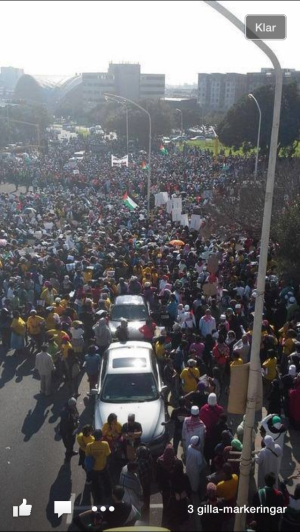 Kapstaden i går