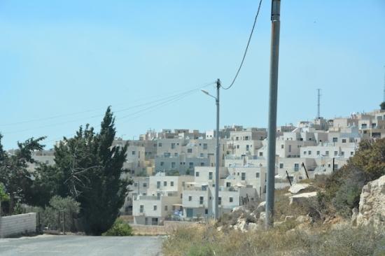 Bosättning nära Betlehem Foto: Anna Wester