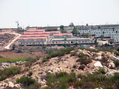 Bosättningar på vägen till Hebron utbyggnad.jpg